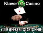 Iedere vrijdag een nieuwe bonus bij Klaver casino